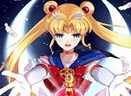美少女战士唯美动漫人物图片