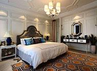 中式奢华卧室装修效果图大全