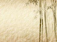 中国风水墨画竹子高清背景图片