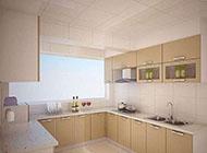 时尚简约的厨房装修设计图片