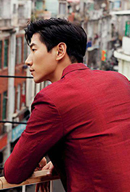中国男模张亮时尚异国写真