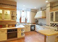 欧式厨房简约时尚装修效果图