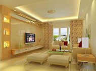 暖色系温馨背景墙图片
