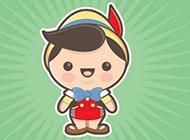 可爱卡通小女孩图片手机壁纸