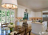 高端奢华大户型厨房装修效果图