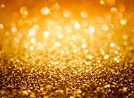 华丽金色光斑ppt背景图片