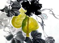 葫芦水墨国画图片赏析