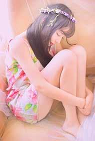 花季少女唯美清新春日私房写真