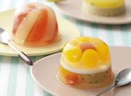 萌系水果拼盘点心图片美味吸引