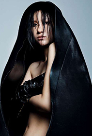 电音女王尚雯婕宣传照 半裸出镜