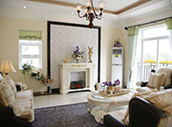 公寓客厅混搭装修效果图舒适温馨