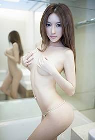 性感模特诗朵雅人体艺术写真集