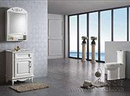 时尚大方的欧式浴室柜装修效果图