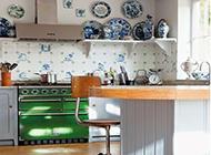 小户型厨房田园清新风格装修实例