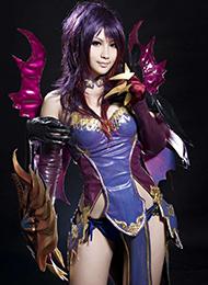 cosplay美歪的图片展霸气女王范