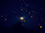 梦幻星空璀璨银河唯美风景