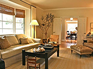 古典美式客厅奢华装修效果图