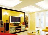 时尚简约有品位的欧式电视背景墙图片