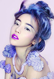 韩国女明星具荷拉梦幻造型写真图片