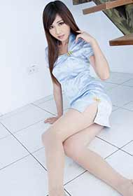 旗袍丝袜美女Chu最新写真
