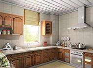 美式田园厨房明亮风格装修效果图大全