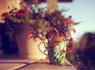创意咖啡唯美意境美拍瞬间