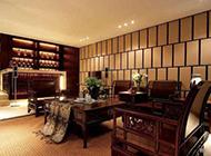 新古典中式别墅客厅装修效果图