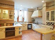 欧式简约干净的厨房装修效果图