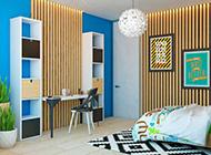 运用木条文在家装设计中的创意装修效果图