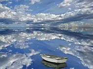 碧蓝唯美疆界自然高清唯美风景图
