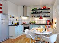 简约现代精美的厨房装修效果图
