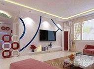 精致美观的现代简约电视背景墙效果图