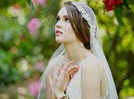 欧美范文艺小清新女生图片婚纱照