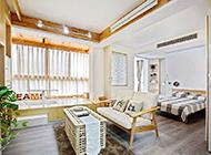 小户型简约客厅混搭风格装修图片