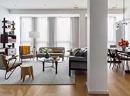 美式简约二居室装修效果图别致时尚