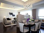 温馨三居室时尚装修效果图典雅精致