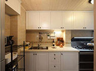欧式厨房装修效果图 凸显时尚简约美感