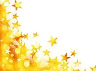 闪亮的星星梦幻背景图片素材