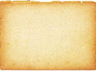 残破黄色纸张高清图片素材