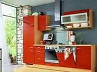 时尚开放式厨房装修图宽敞整洁