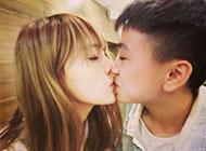 唯美浪漫甜蜜幸福接吻情侣图片