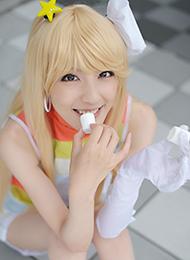 少女迷人的笑容cosplay图片
