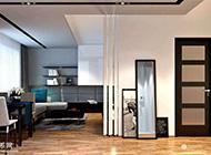 低调奢华后现代黑白两色主打家居设计图