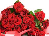 代表激情爱恋的红玫瑰花束