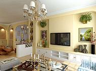 家庭装修地中海风格背景墙效果图