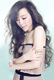 电影演员张静初时尚性感写真