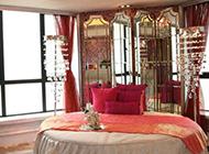 婚房主卧室简约时尚装修效果图