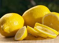 消暑解渴的柠檬水果图片