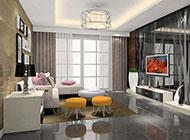 客厅现代设计风格独特简明