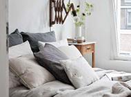 简约时尚清新寝室装饰效果展示